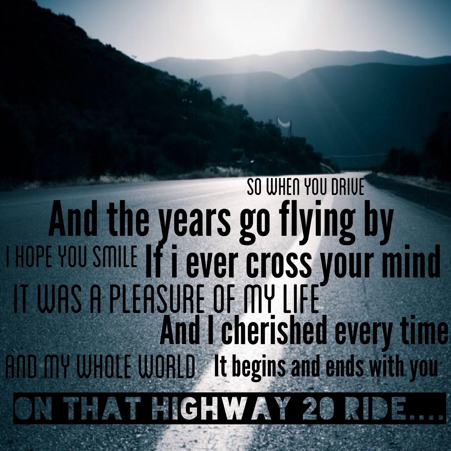Highway 20 ride