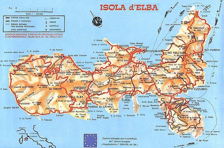 Cartina Elba.Risultati Immagini Per Isola D Elba Cartina Isola D Elba Elba Arcipelago