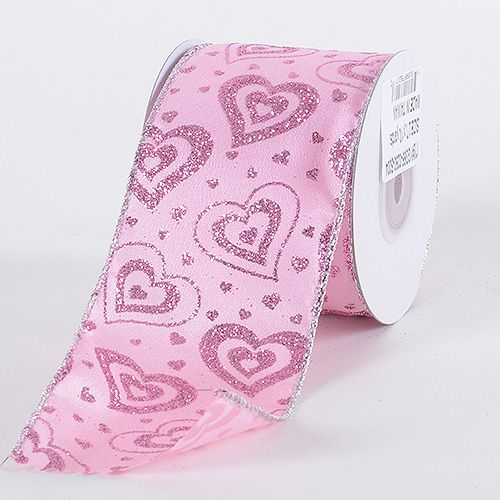 Specialty Ribbon - Pink - Valentine Ribbon