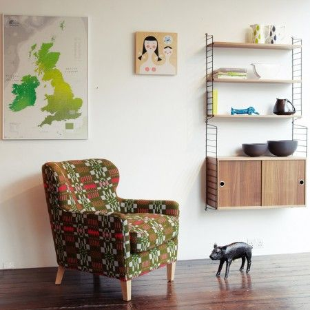 Eadie Armchair, Donna Wilson (love donna wilson/nos da, and still have a soft spot for those little piglets)