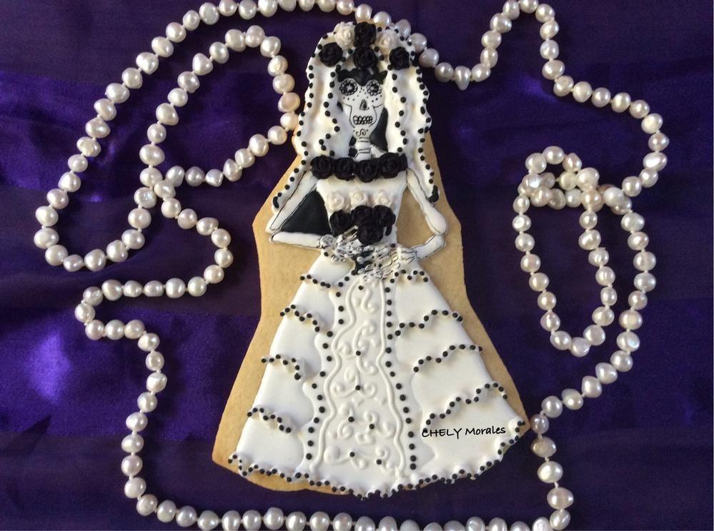 Catrina vestida de novia!