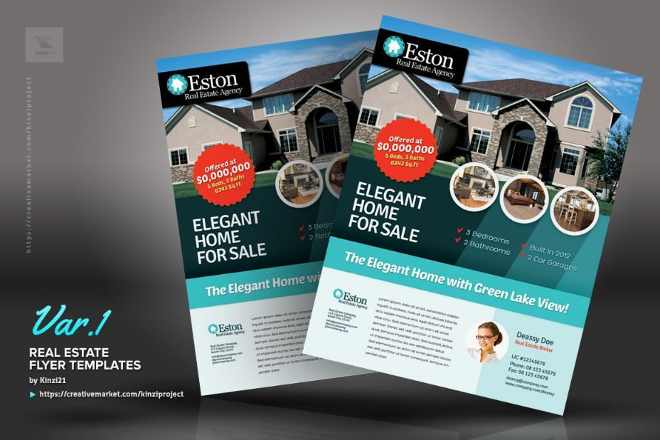 Sales Flyer Template Psd For House Retail And Discount