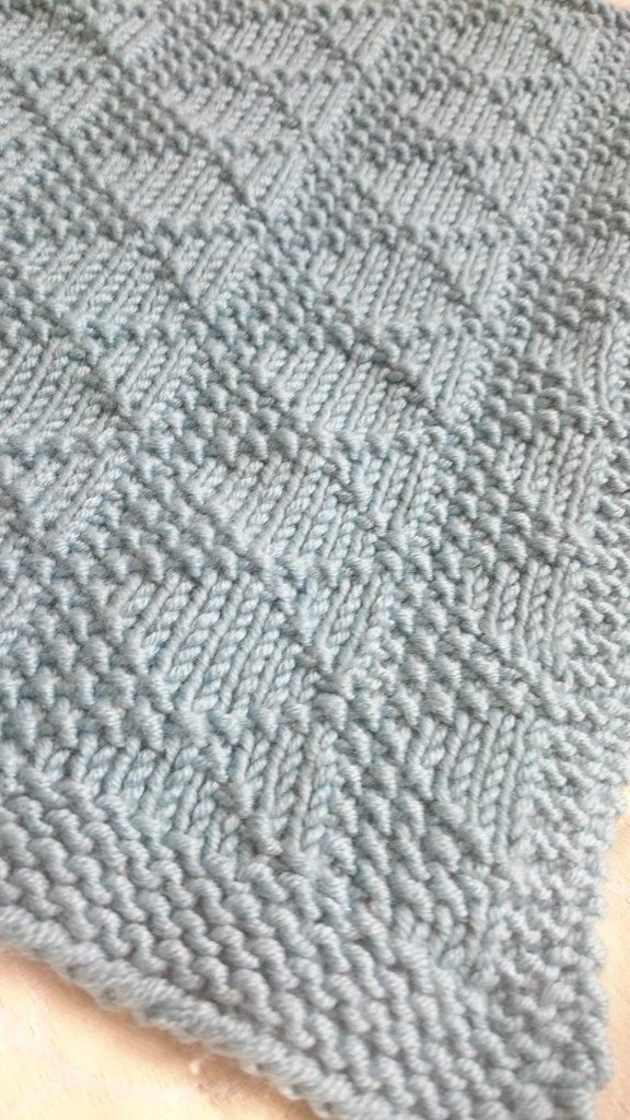 Melanie\'s Blanket | Knit picks | Pinterest | Muestras de punto ...