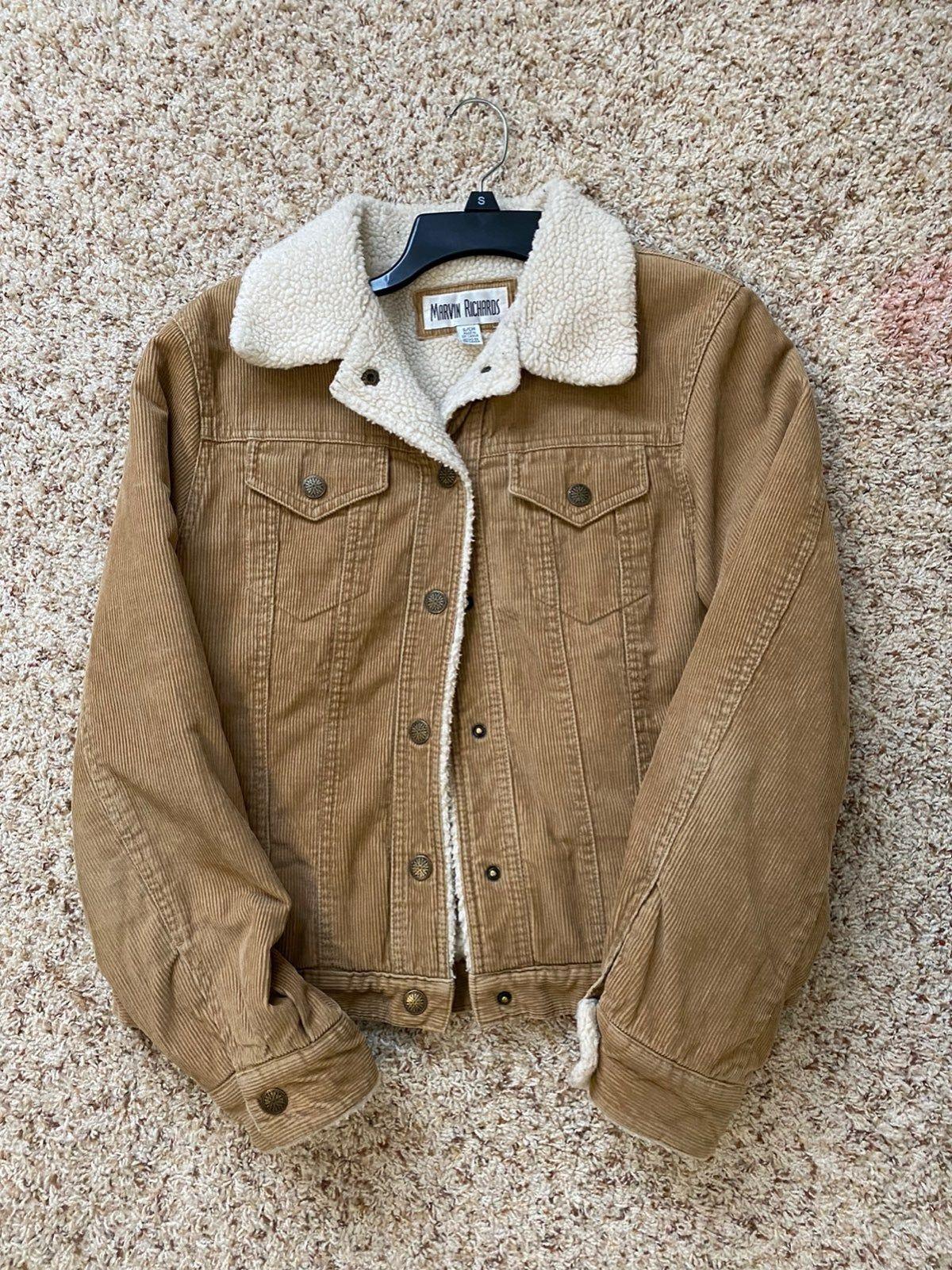 Marvin Richards Beige Jean Jacket In 2021 Thrift Fashion Beige Jeans Jackets [ 1601 x 1200 Pixel ]