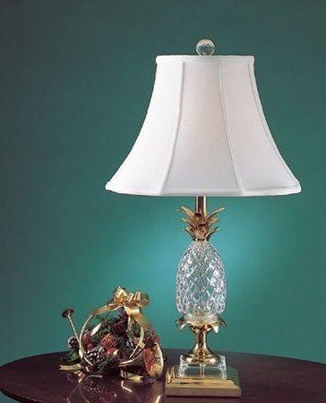 Quoizel Crystal Pineapple Table Lamp Item Qg668b My Decor Sweet