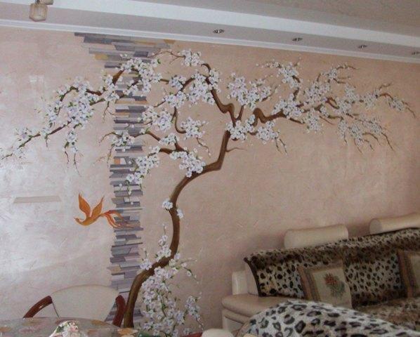 роспись стен в квартире - Поиск в google | декор стен в доме