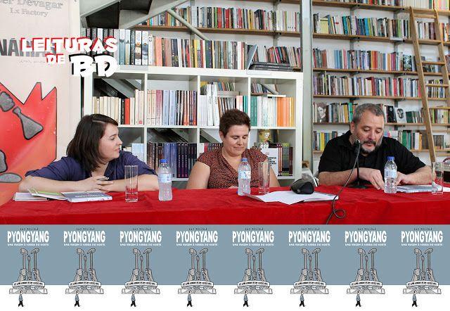 Leituras de BD/ Reading Comics: Lançamento Devir: PyongyangEvento na livraria Ler ...