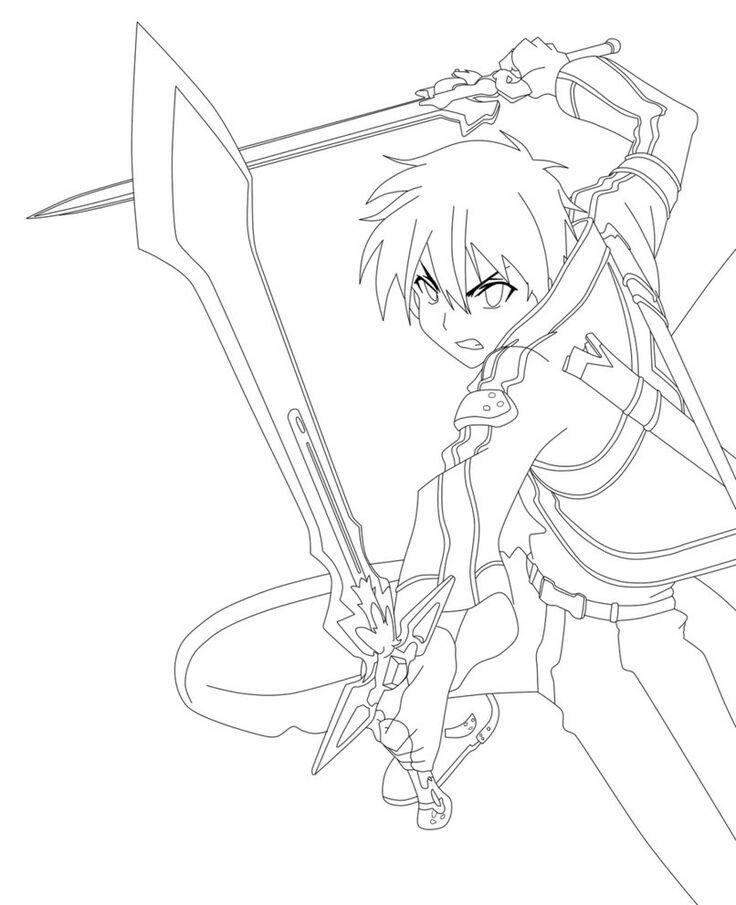 Pin De Ricar Senpai En Characters Angel Para Dibujar Arte De Espadas En Linea Arte De Anime
