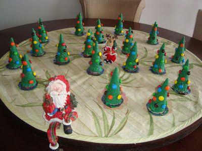 Pâtisserie Professionnel et Cuisine: Árvore Surpresinha de Natal