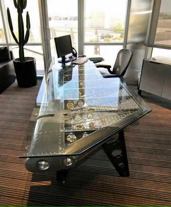 Motoart Aviation Furniture Pretty Cool Office Desk For Dad