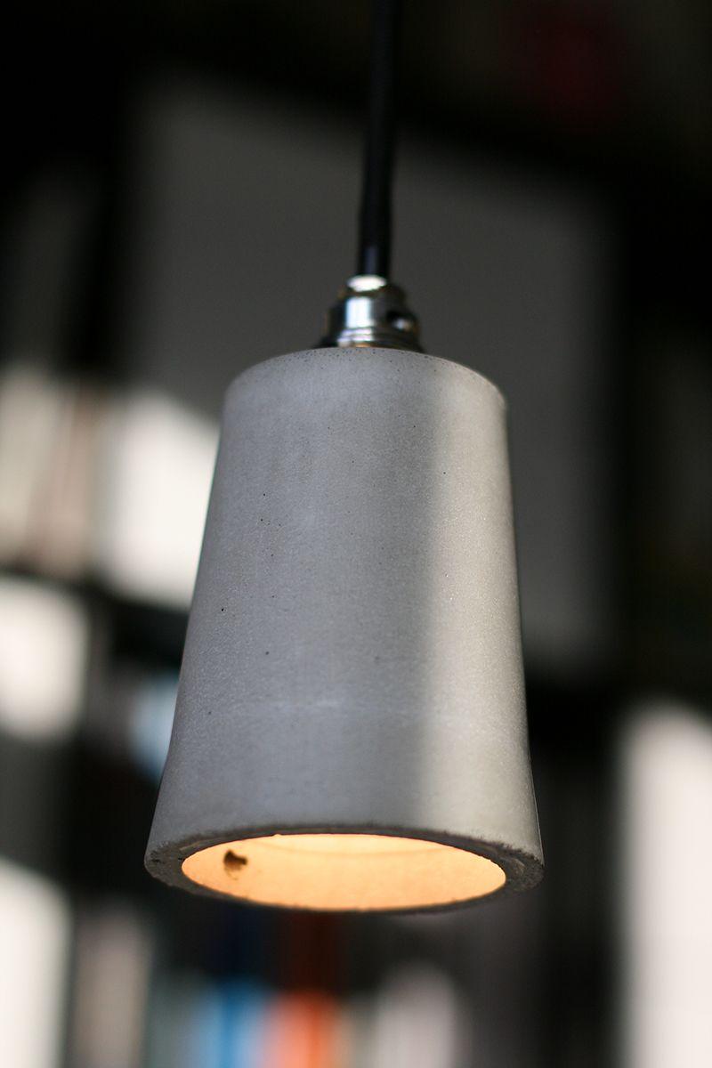 Beton Lampe beton-lampe | basteln in 2018 | lampen, beton deko, schlafzimmer lampe