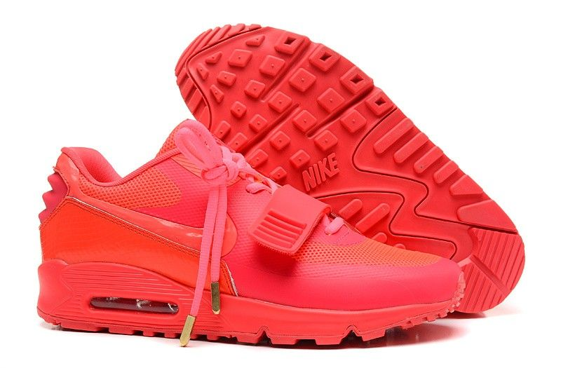 outlet store 22ff6 4426d Nike Air Max 90 X Yeezy 2 Sp Red October Sneakers
