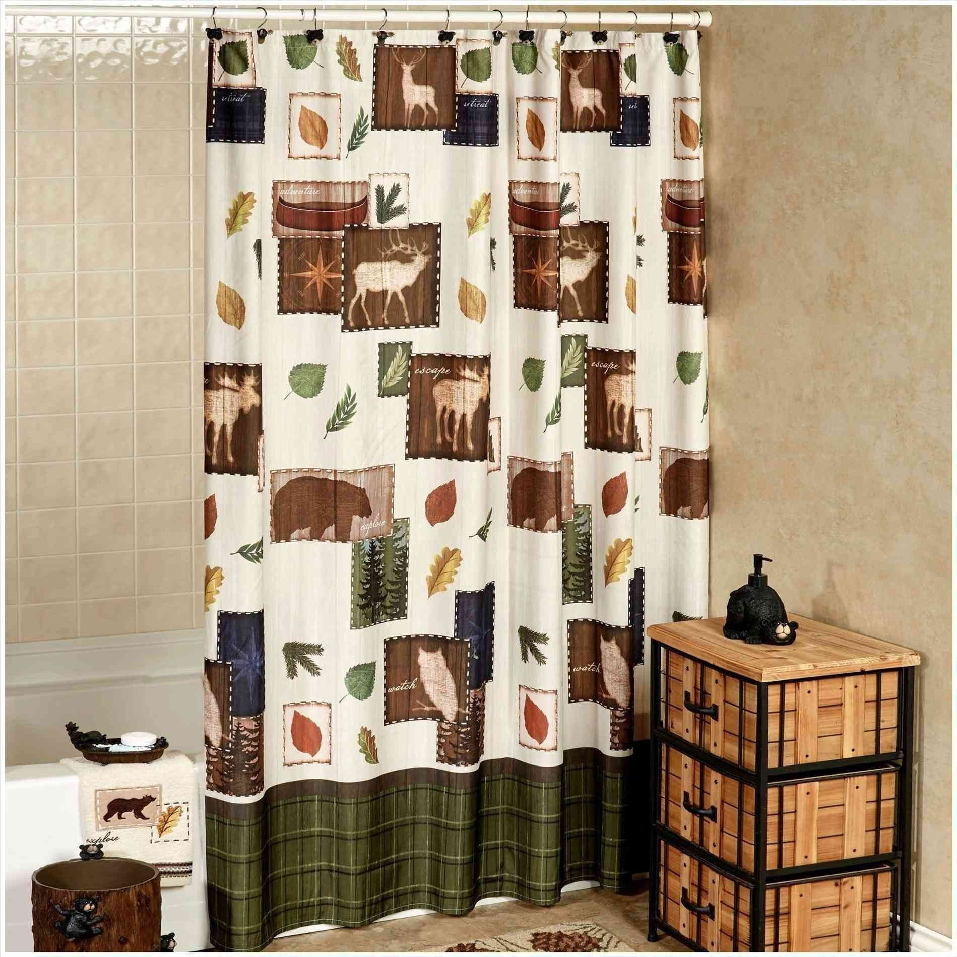Beautiful Wildlife Shower Curtains Shower Cabin Rustic Bathroom Shower Lodge Shower Curtain
