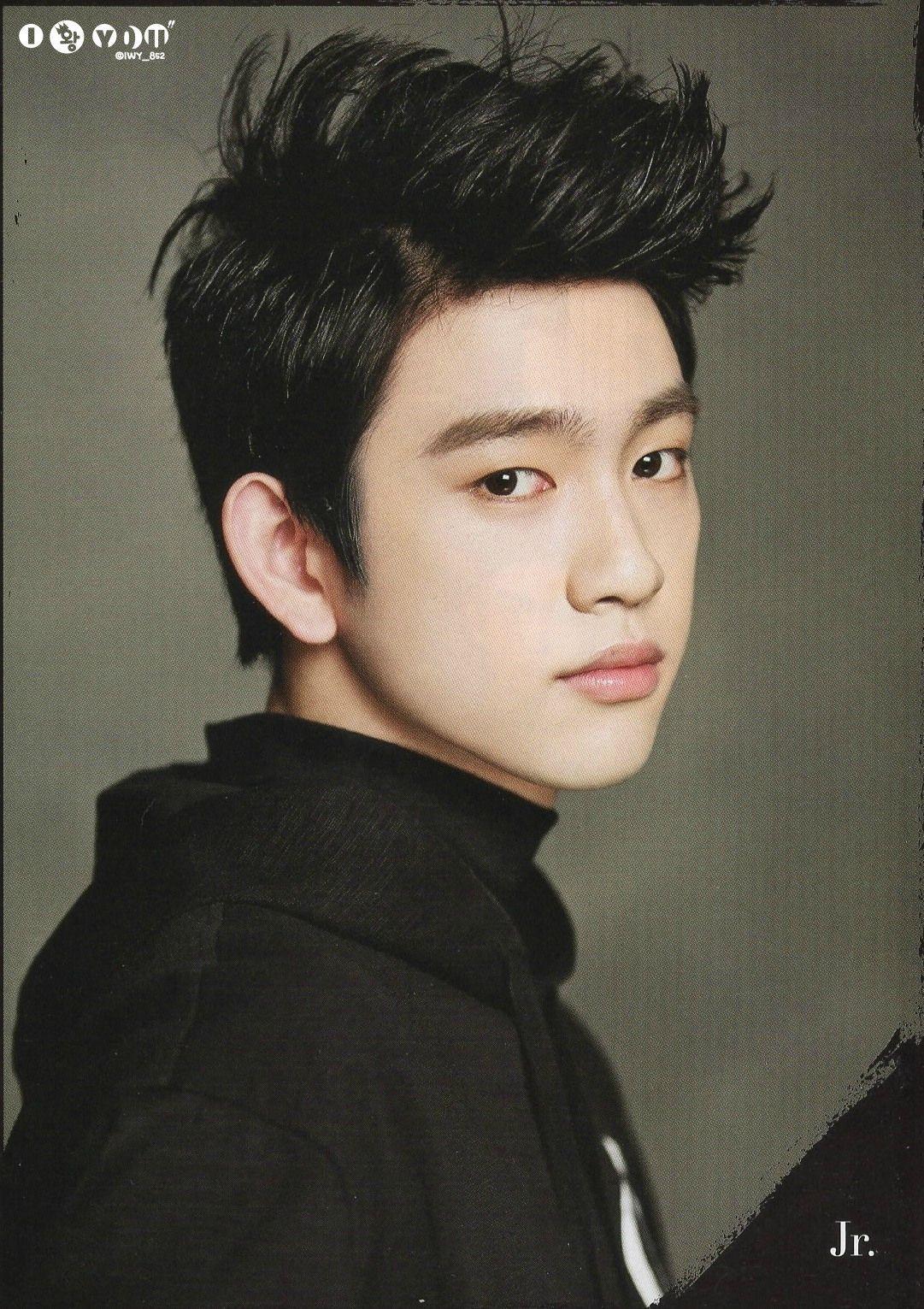 Favorite Junior GOT7 Hairstyle - Celebrity Photos - OneHallyu