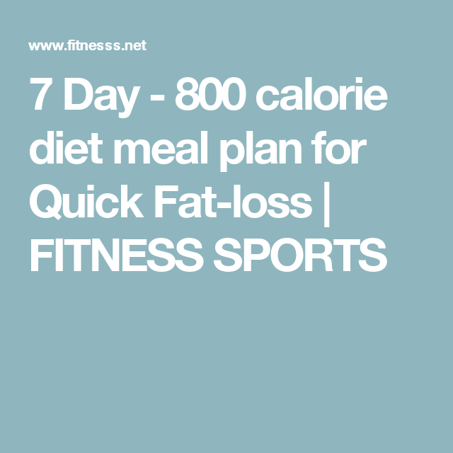 7 day fat loss diet pdf