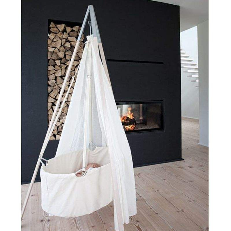 Delightful Floating Tipi Cribs Amazing Ideas