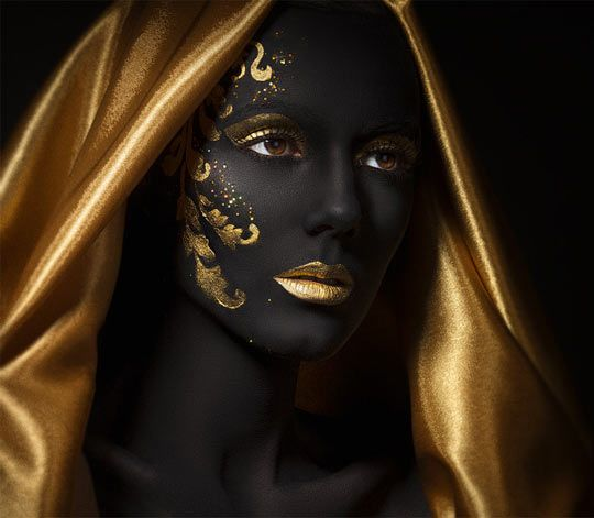 Black And Gold Decorative