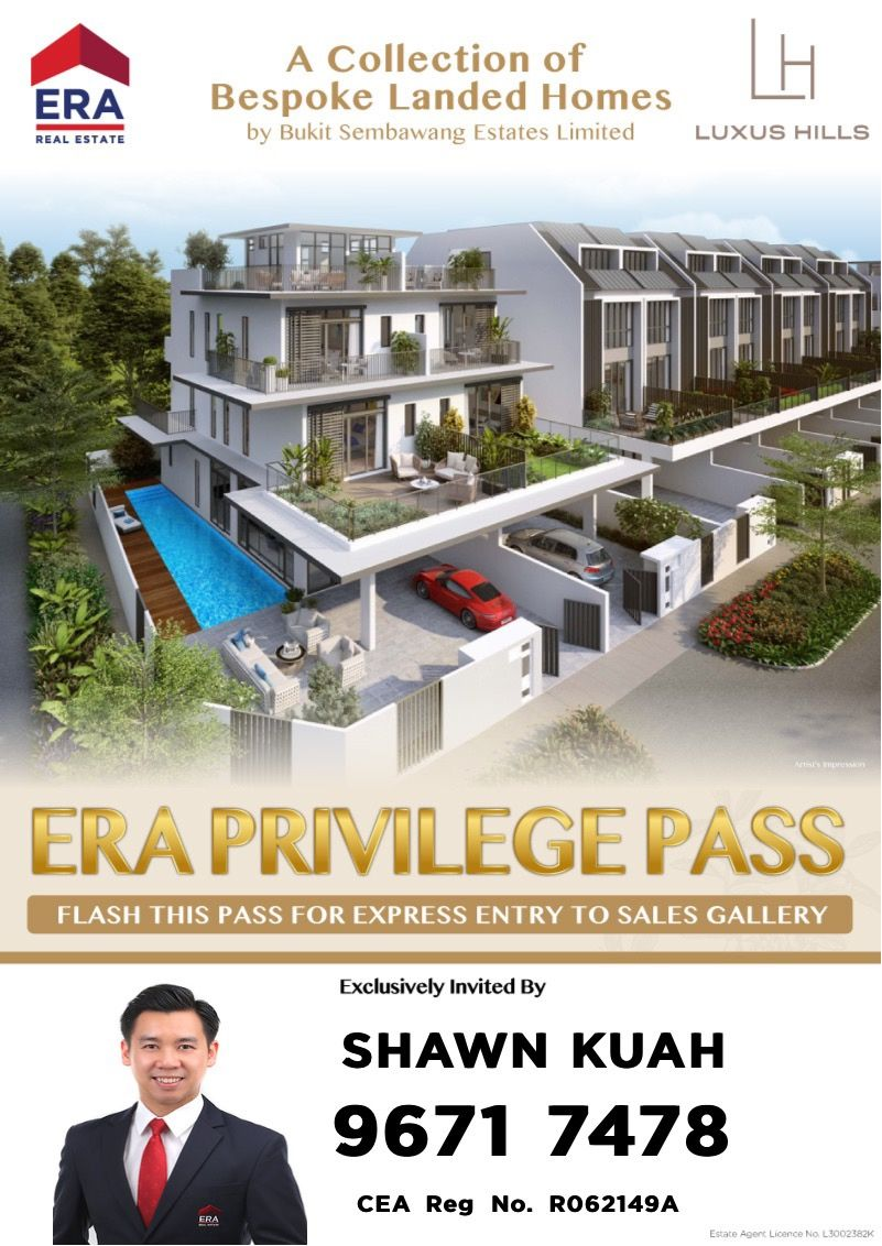 Luxus Hill Brand New Collection Of Bespoke Landed Homes By Bukit Sembawang Estates Limited Located In A Real Estate Houses Terrace House Building A House