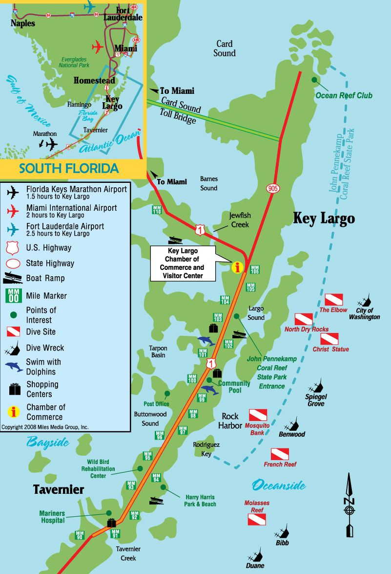 Map Of Largo Florida Google Image Result for http://.keylargochamber.org/images/Key