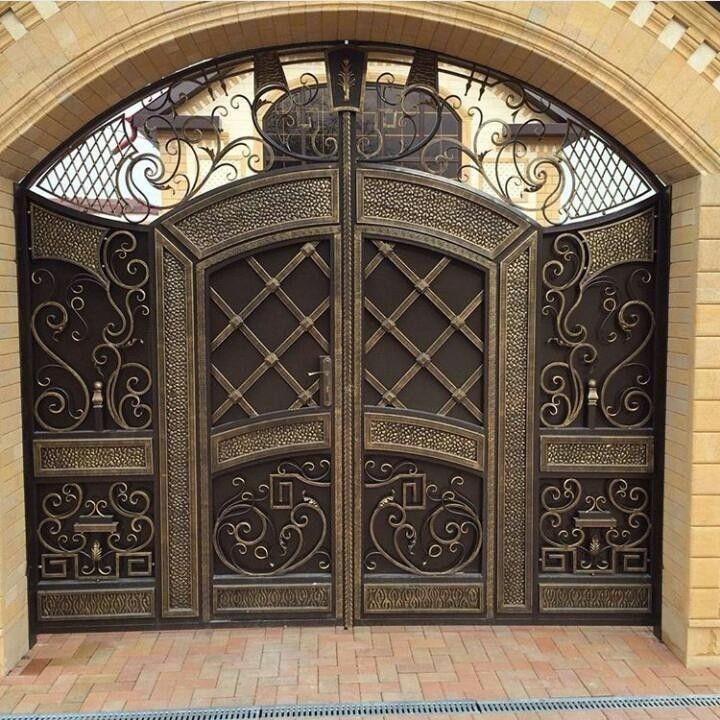 Личное фото | Gates в 2019 г. | Дизайн двери, Современные ...