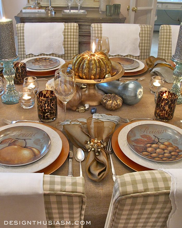 Gourd Crafts: Elegant Inexpensive Thanksgiving Table Decorations ...