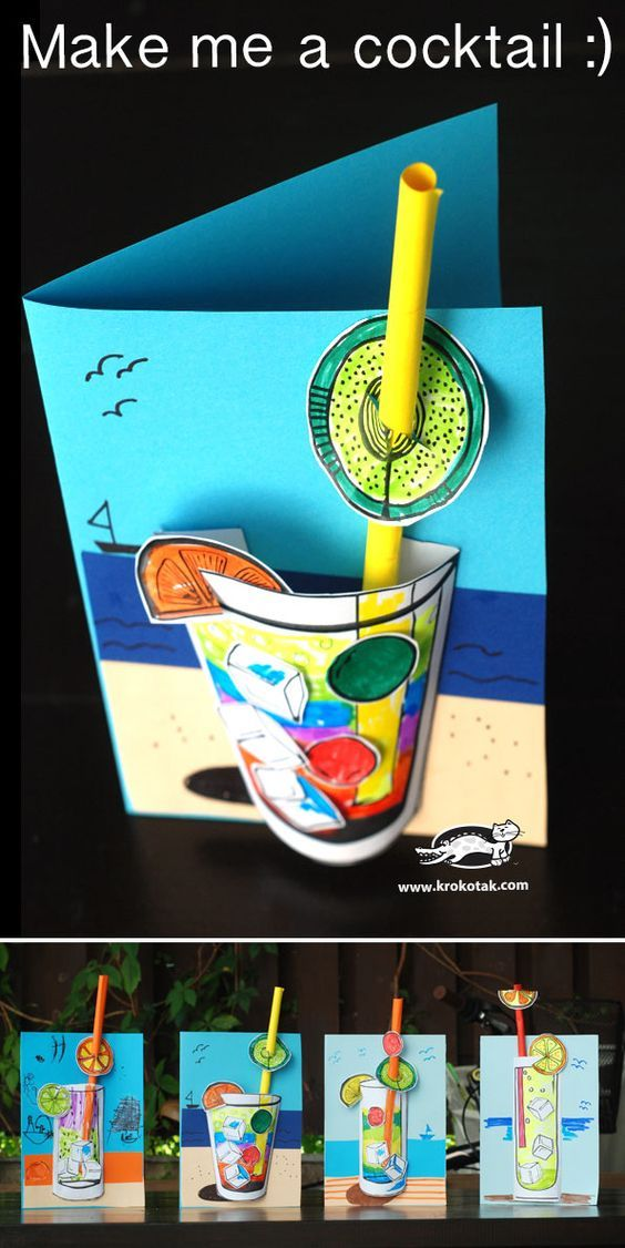 5e0824b352 3D-s papír alkotások | Kuka-klub | Crafts for kids, Art for kids, Preschool  art