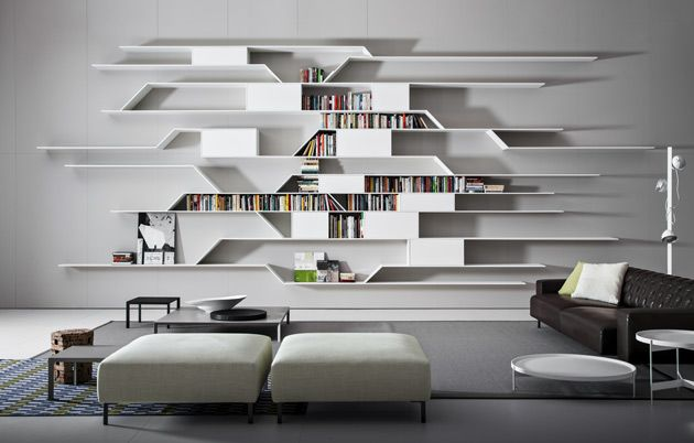 2018 Futuristic Shelves