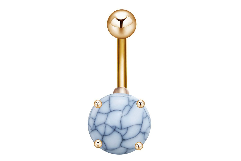 Belly button piercing stud  Gemstone Belly Button Ring Stud  Belly button Studs and Gemstones