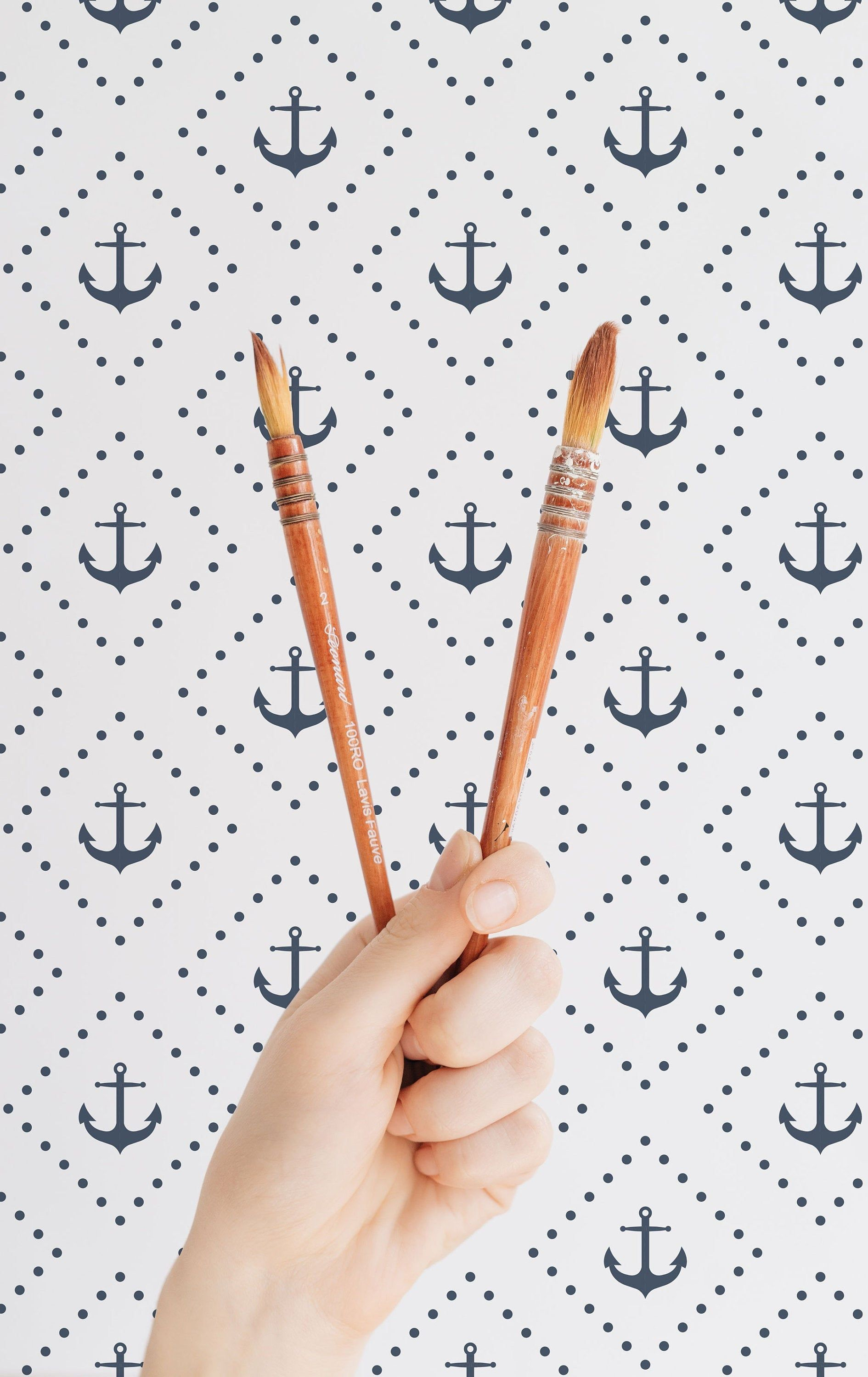Nautical Removable Wallpaper Peel And Stick Nautical Etsy Nautical Wallpaper Nautical Wallpaper Pattern Removable Wallpaper