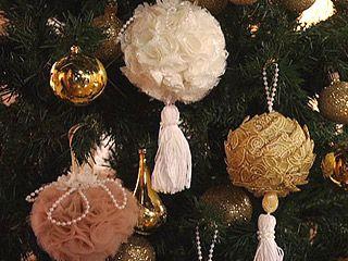 Manualidades y artesan as especial adornos para el - Adornos navidenos elegantes ...