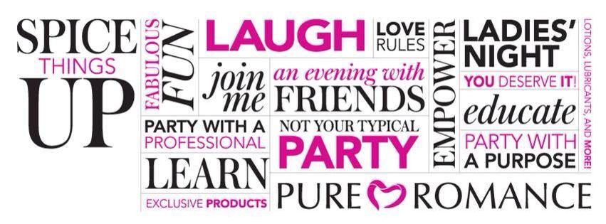 Fb Banner Idea Pure Romance Consultant Pure Romance Party Pure Romance