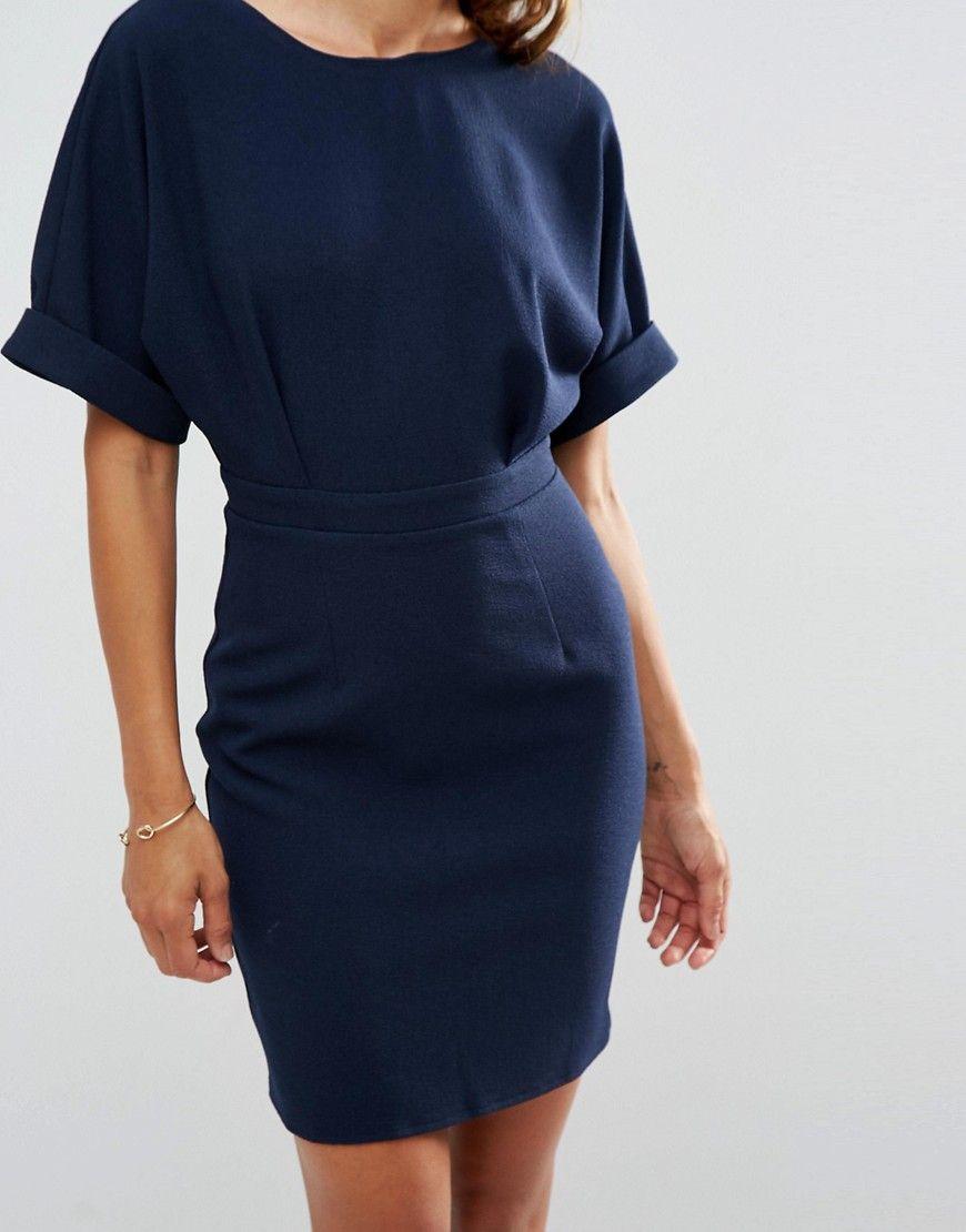 1e574a57a4d Image 3 of ASOS Mini Wiggle Dress