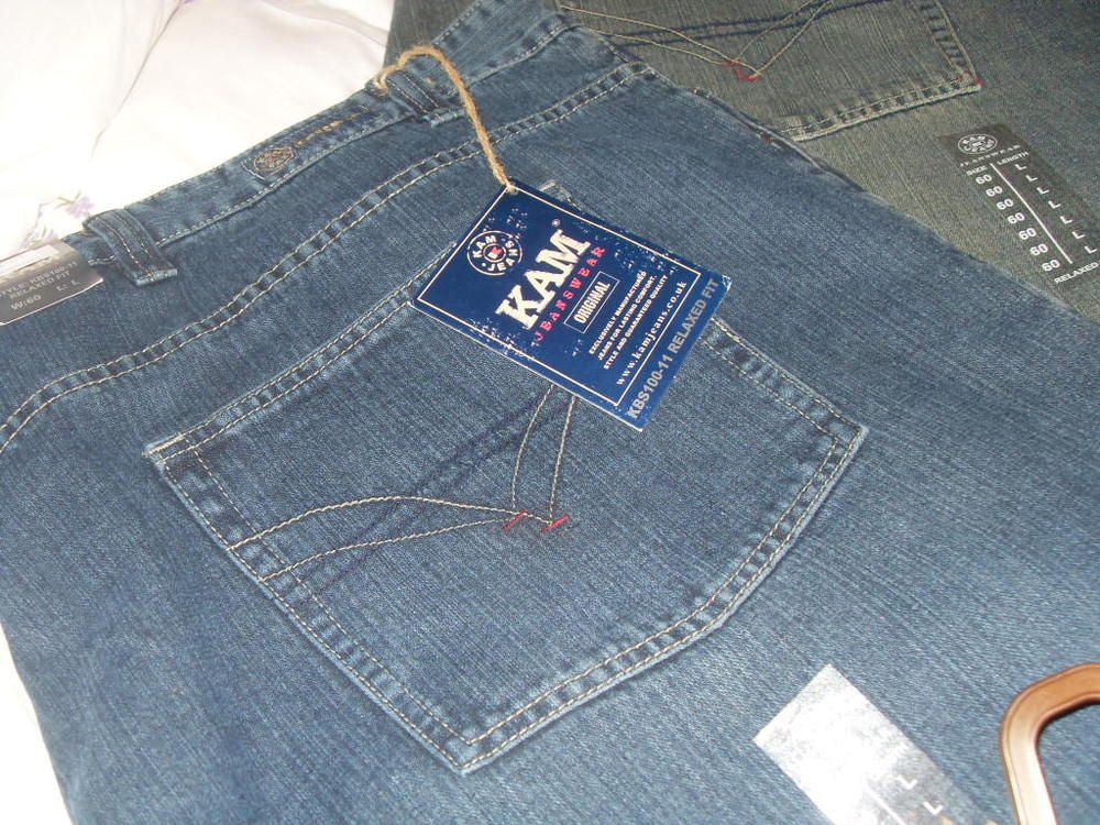 e3aab15a GENTS EXTRA LARGE KAM JEANS NEW 60