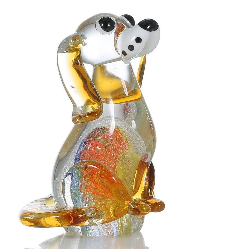 Engelfiguren Modern puppy glass figurine grand designs houses fiberglass resin