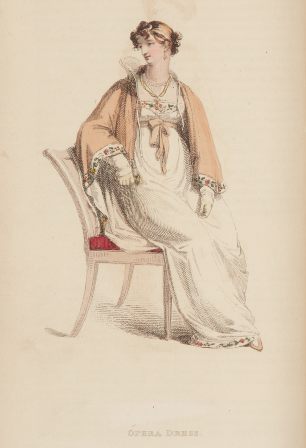 Ackermann's, February 1813, Opera Dress