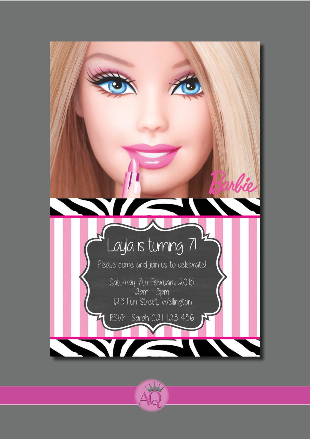 Pin Ambra Kent Party- Barbie Kids