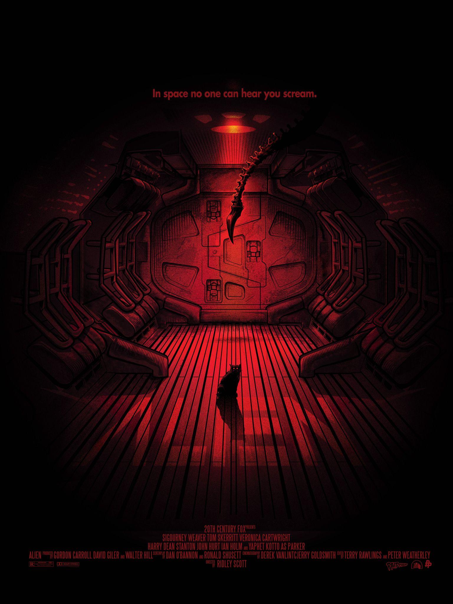 Alien 35 Aniversario | ailens | Pinterest | Cartelitos, Cine y Gato