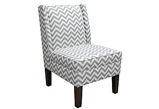 Wingback Chair, Gray, $399 at Joss