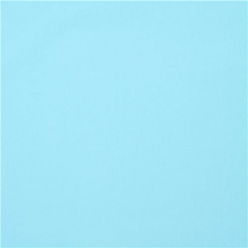 solid light blue Clothworks organic fabric from the USA - Organic ...