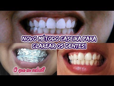 Diy Como Clarear Os Dentes Em 2 Minutos Receita Caseira