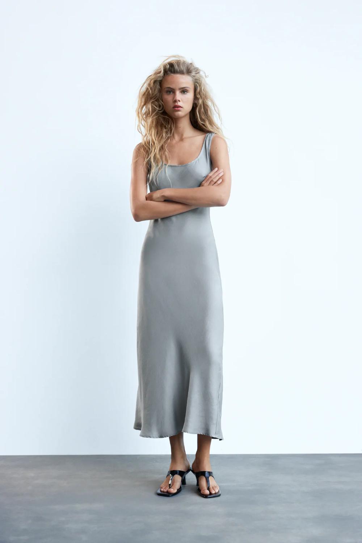 Slip Dress Zara United States Zara Slip Dress Slip Dress Dresses [ png ]
