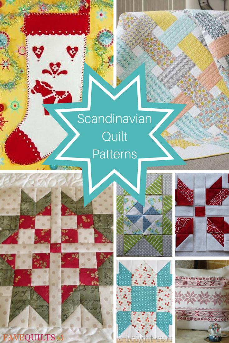 15 Scandinavian Quilt Patterns Scandinavian Quilts Christmas Quilt Patterns Quilt Patterns
