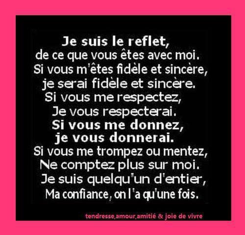 Amour Respect Confiance Citation Respect