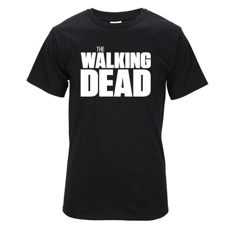 The Walking Dead Daryl Dixon Balck Cotton Leisure T-Shirt Short Tee Unisex
