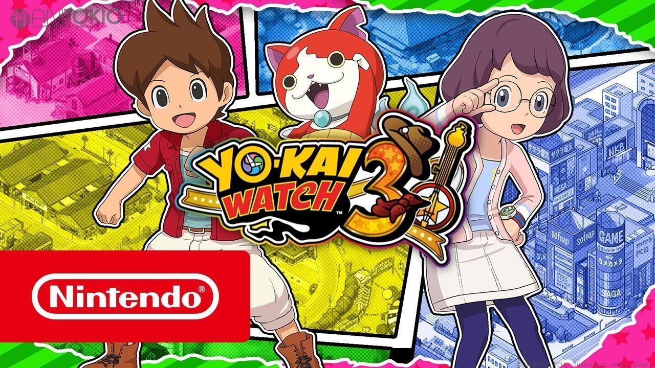 Desde Nintendo Han Anunciado Que Yo Kai Watch 3 Se Lanzara El 7 De