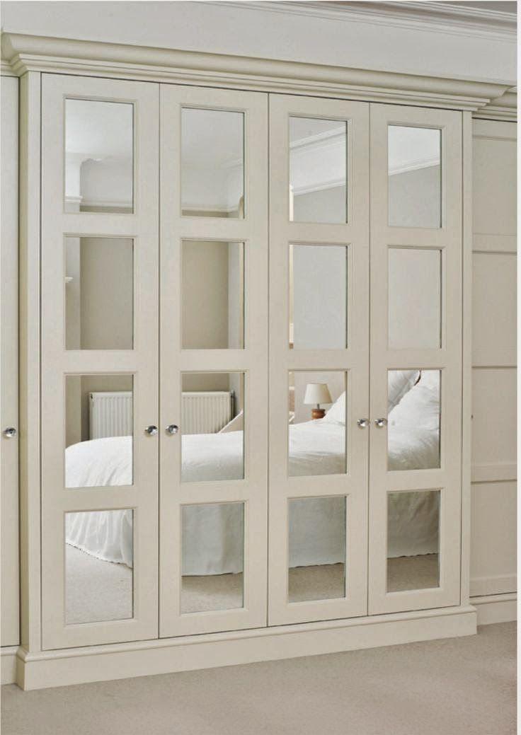 mirrored bifold closet doors pinterest