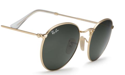 d7423742d2 Ray Ban Round Sunglass Arista Gold RB 3447 001 – Sunglass Oasis Online