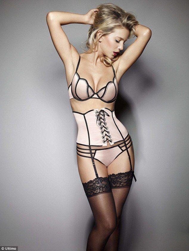 Ultimo new premium lingerie range hits Harrods  Exclusive Black ... 449a96967