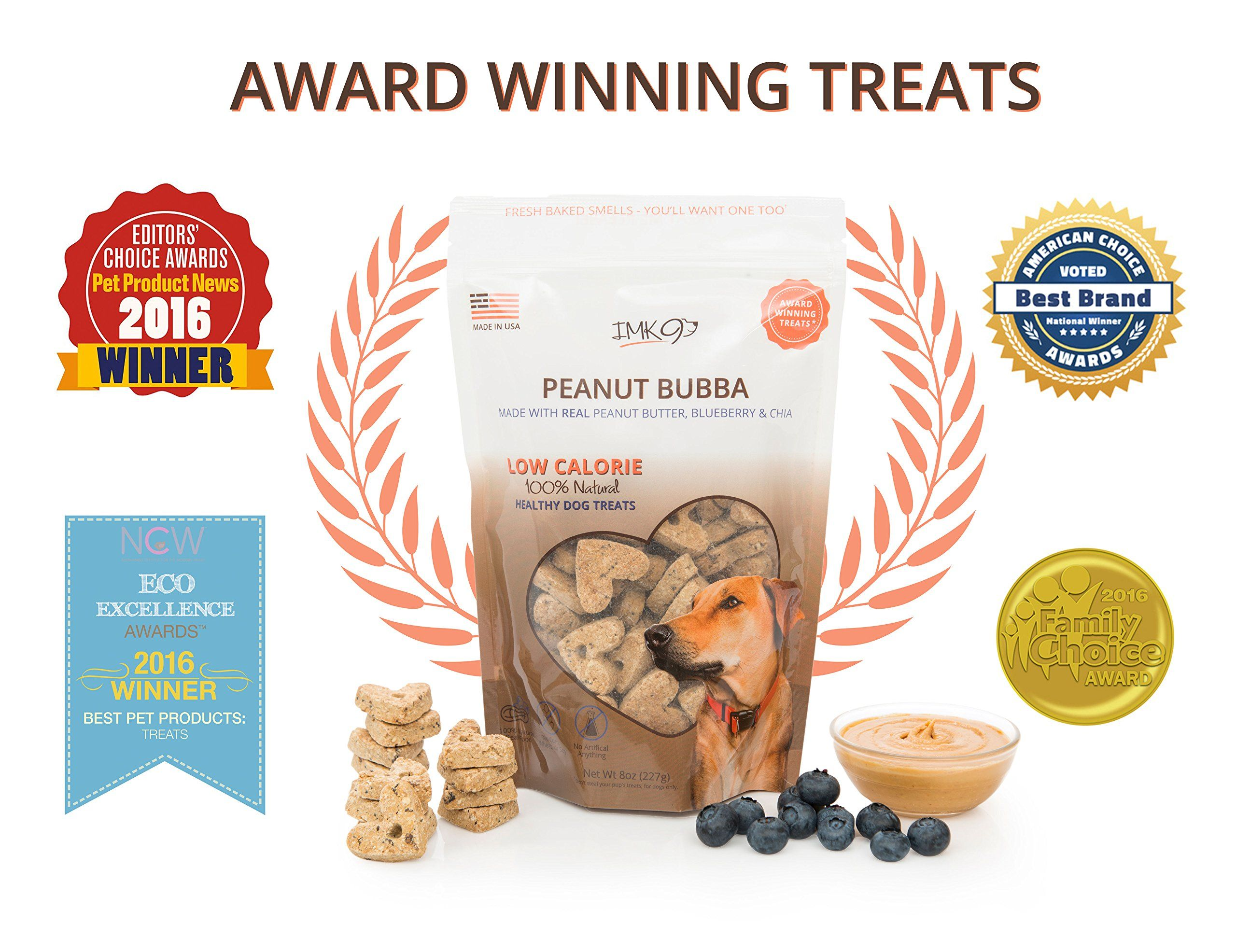 All Natural Dry Dog Training Treats Low Calorie Limited