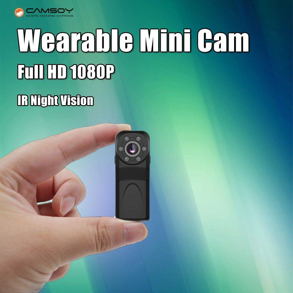 Thumb Size Mini Camera 1080P 720P HD Night Vision Body Camera Video Voice Recorder Small Web Camera Motion Detection Mini DV Cam